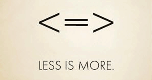 2018 plannen? Less is more!