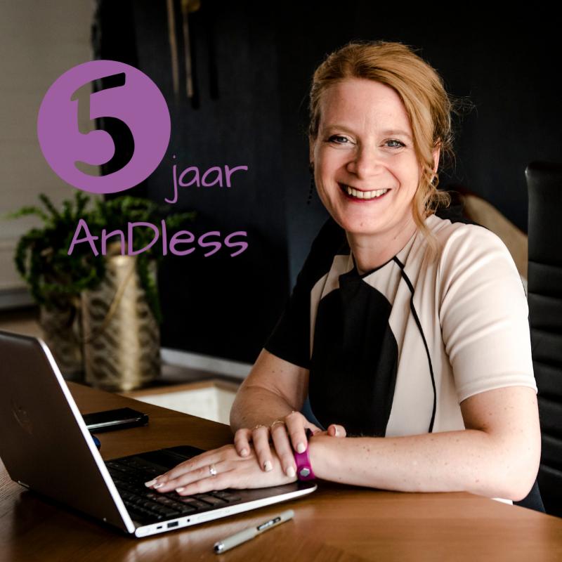 Vijf jaar AnDless: mijn groeiproces als Freelance Administratief Wonder